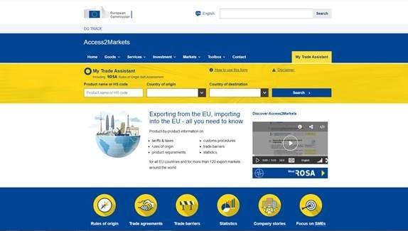 Access to Markets (A2M) – EU-kommission lanserar ny databas för exportörer och importörer